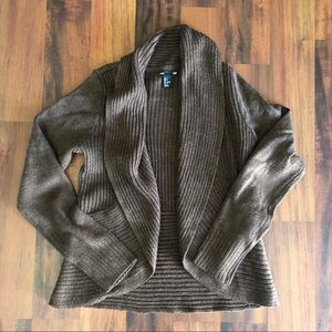 H&M Brown Cardigan Size Small